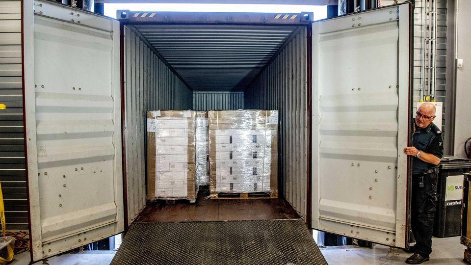 Container in Rotterdam beschlagnahmt