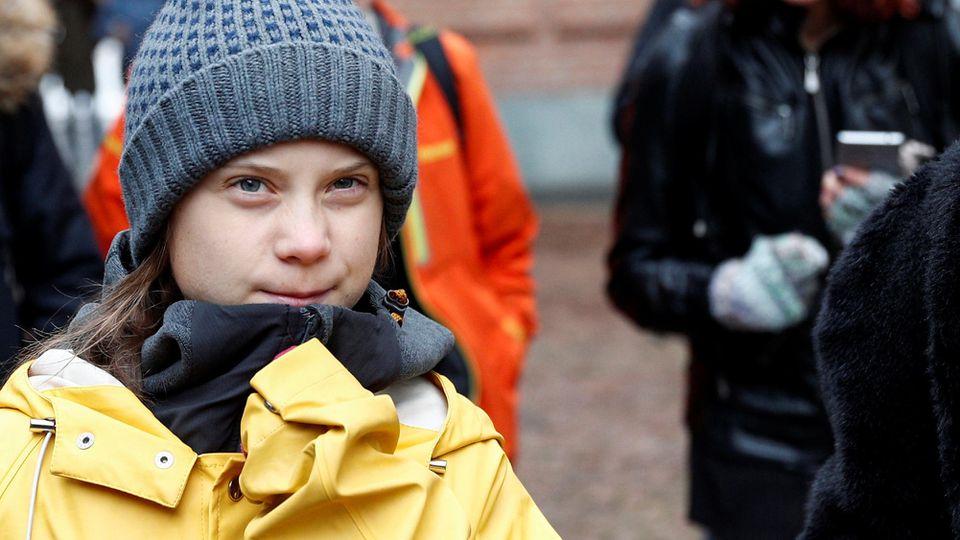 Greta Thunberg reiste nach dem Klimagipfel zurück nach Schweden.