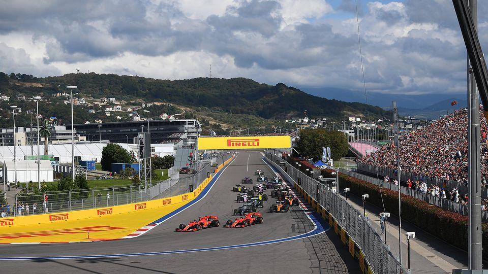 Fährt die Formel 1 2020 in Sotschi vor Fans?