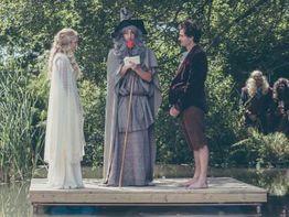 Hobbit Hochzeit Paar Heiratet Als Galadriel Und Frodo