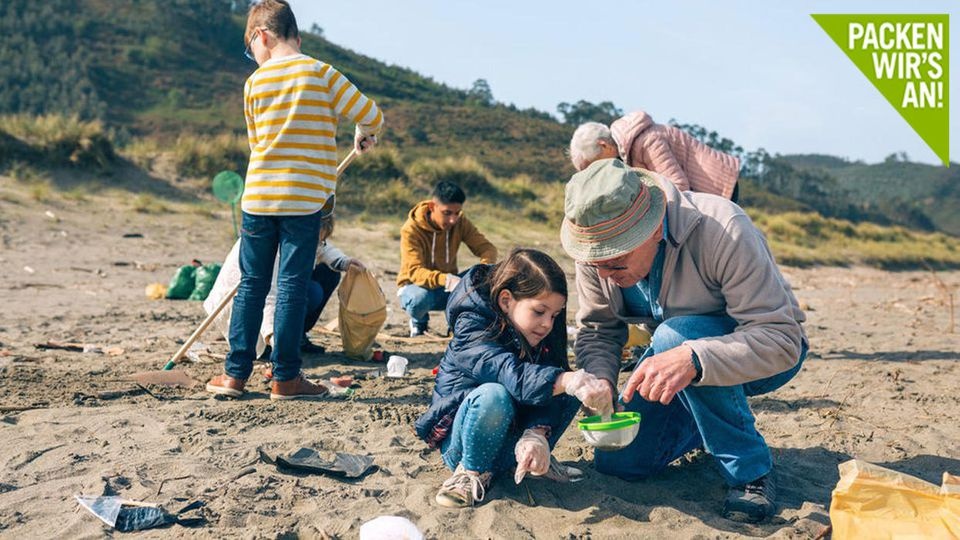 Gemeinsam können wir ein Zeichen setzen: Beim World Clean-Up-Day