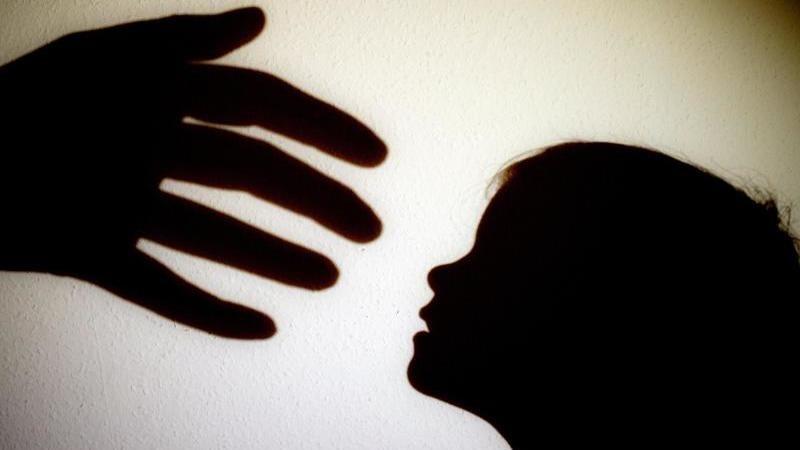 Schatten einer Hand einer erwachsenen Person neben dem Schatten eines Kindes. Foto: Patrick Pleul/dpa-Zentralbild/dpa/Illustration