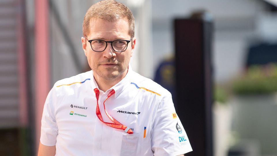 McLaren-Teamchef Andreas Seidl