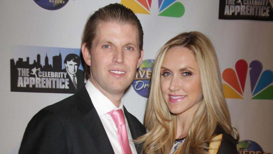 Eric und Lara Lea Trump bei einer Veranstaltung im Trump Tower 2015
