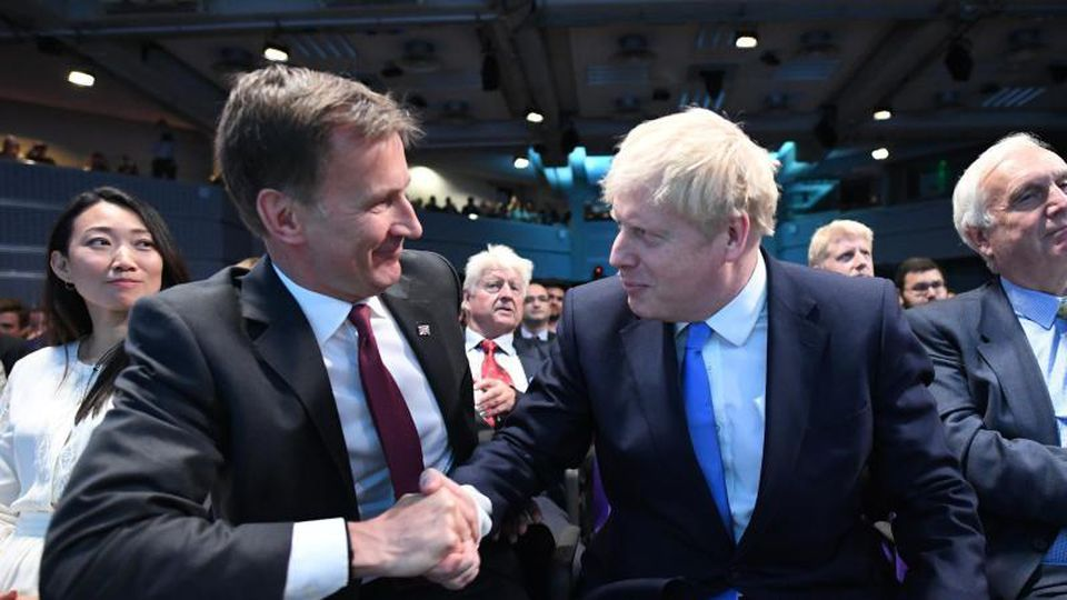 Jeremy Hunt und Boris Johnson