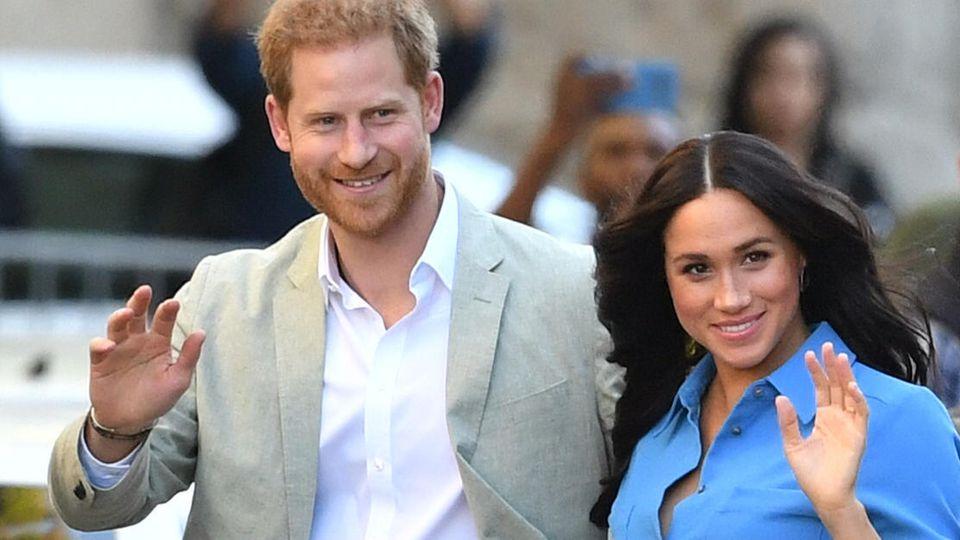 Prinz Harry wirft einen Rückblick auf die Anfänge der Beziehung mit Meghan.