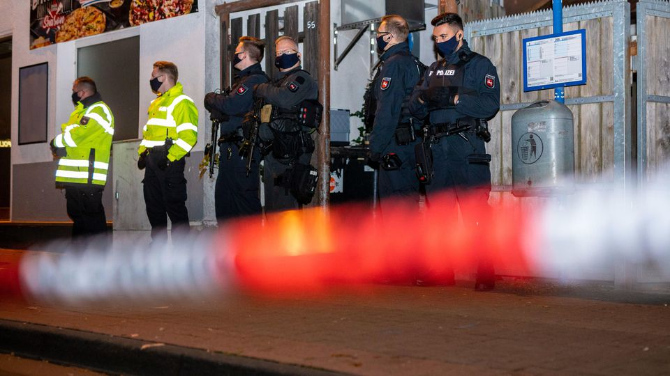 Polizeieinsatz in Celle.