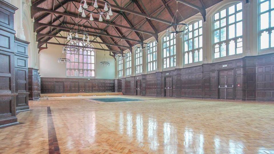 Die Halle kann auch für Hochzeiten und Feiern gemietet werden!