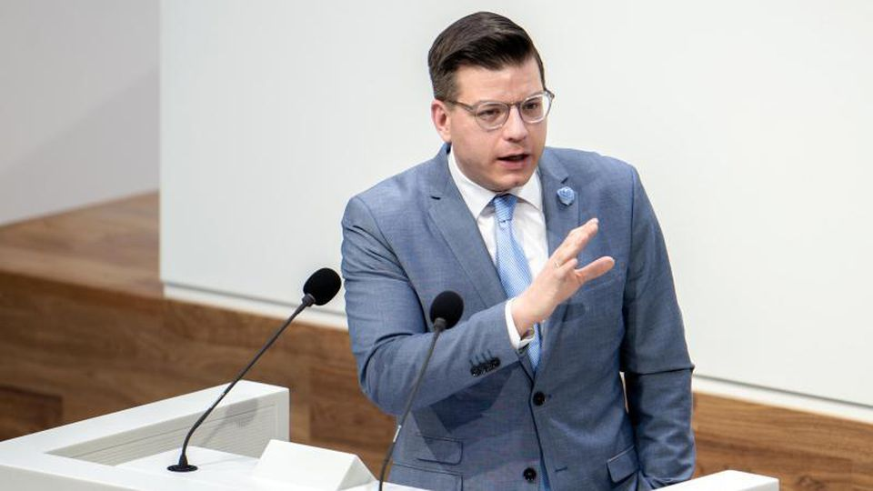Björn Försterling (FDP), Abgeordneter aus dem Wahlkreis Wolfenbüttel. Foto: Hauke-Christian Dittrich/dpa/Archivbild