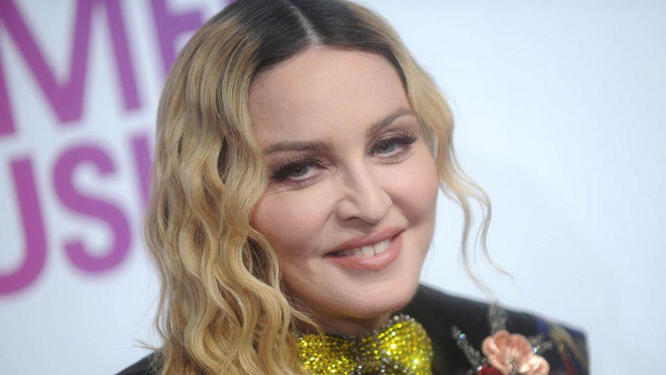 US-Amerikanerin Madonna hat beim ESC keine gute Figur abgegeben, sind sich die meisten Augenzeugen einig