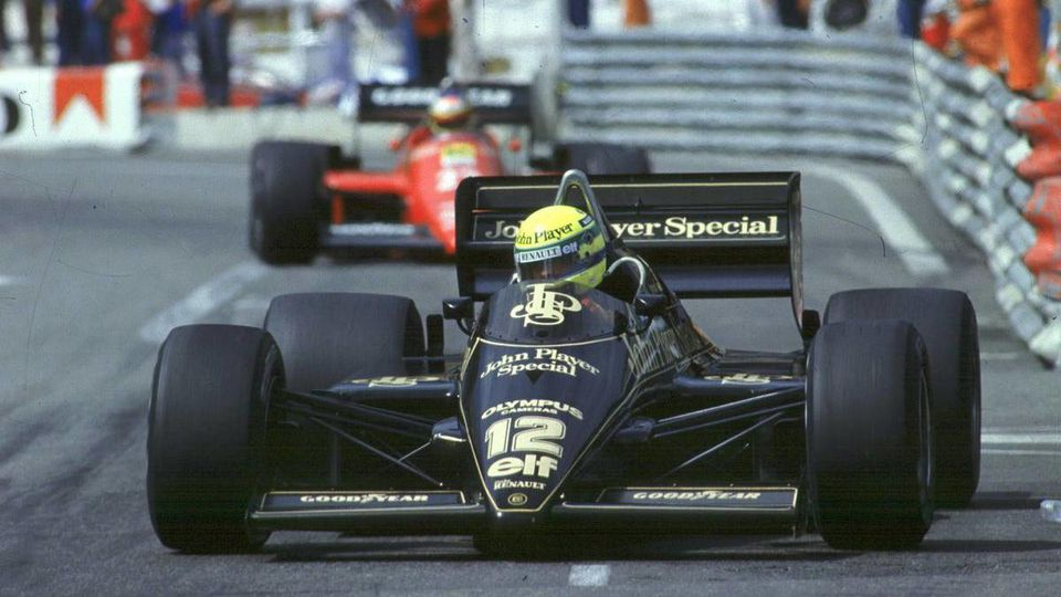 10.11.20071985 GP F1 Monte Carlo, Ayrton Senna (BRA), Lotus 97T - Ayrton Senna Story - www.xpb.cc, EMail: info@xpb.cc - copy of publication required for printed pictures. Every used picture is fee-liable. © Copyright: Photo4 / xpb.cc - LEGAL NOTICE: