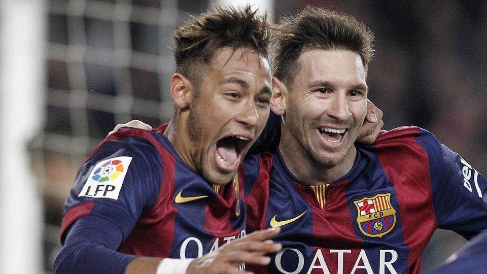 Aktuell Fußball Spanien Primera Division FC Barcelona Atletico Madrid FC Barcelona Barca s Leo