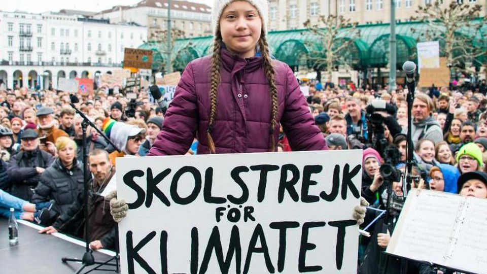 Greta Thunberg, Klimaaktivistin. Foto: Daniel Bockwoldt/dpa/Archivbild