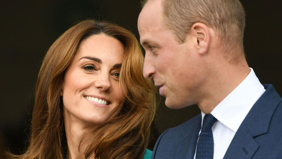 Herzogin Kate und Prinz William während eines Events in London