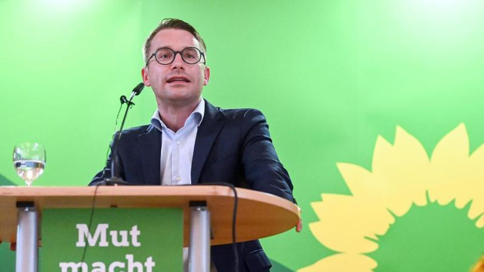 Sebastian Striegel (Die Grünen)spricht. Foto: Hendrik Schmidt/dpa-Zentralbild/ZB/Archivbild
