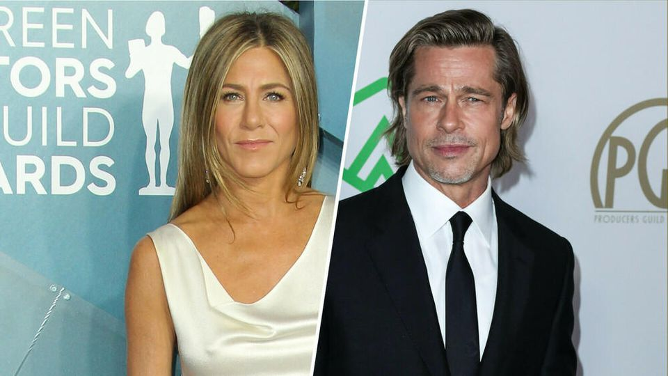 Brad Pitt & Jennifer Aniston: Überraschungs-Reunion bei den SAG Awards
