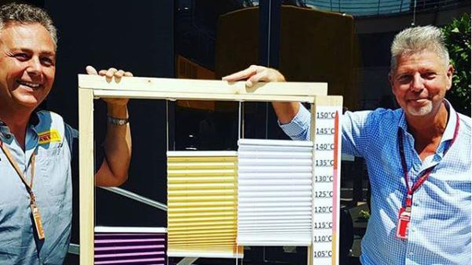 Mario Isola von Pirelli und das ominöse Reifenfenster