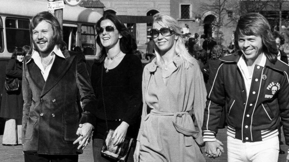 ABBA im Jahr 1977 während der Zeit ihres größten Erfolgs