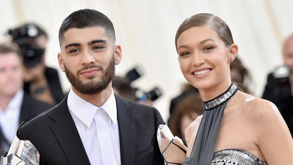 Gigi Hadid und Zayn Malik freuen sich über Nachwuchs