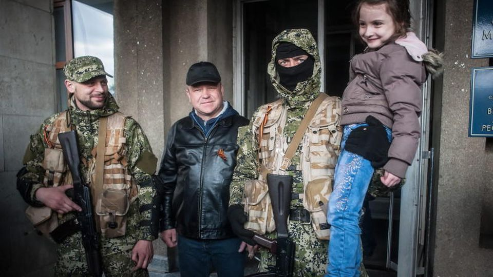 Slawjansk, Donezk, Ukraine, Putin