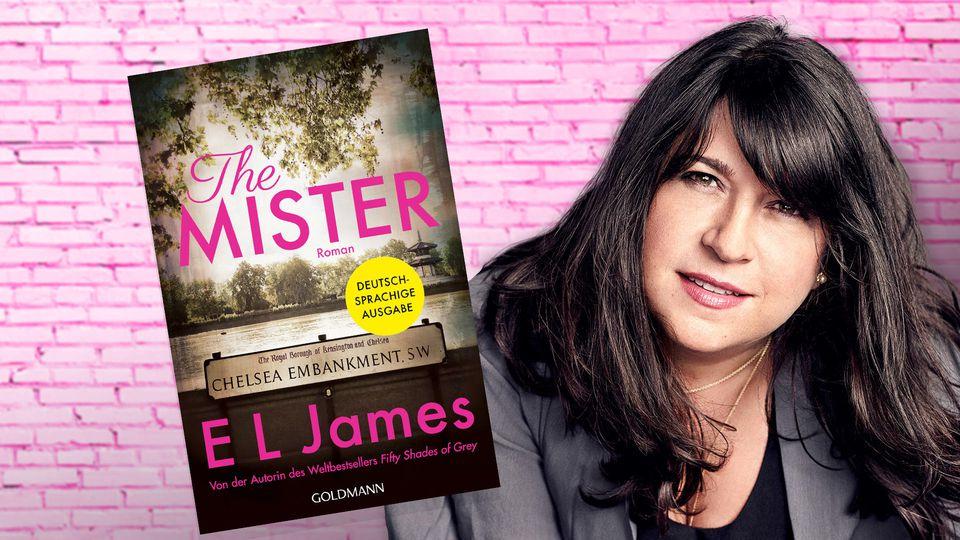"""Der neue Roman von E L James heißt """"The Mister"""" und ist jetzt erhältlich. Zunächst als E-Book und ab dem 20. April als gedruckte Ausgabe."""