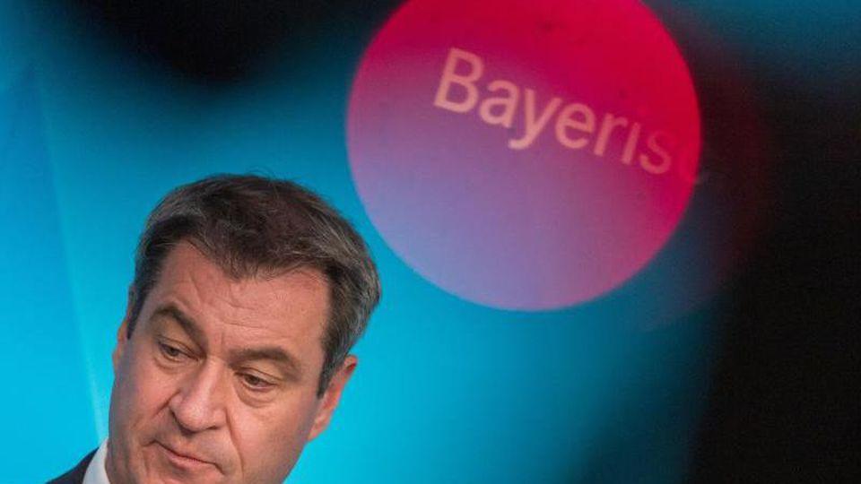 Markus Söder, der Ministerpräsident von Bayern. Foto: Peter Kneffel/dpa/Archivbild