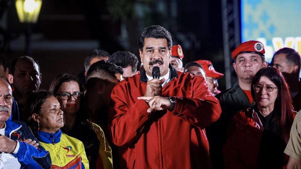 Präsident Nicolas Maduro