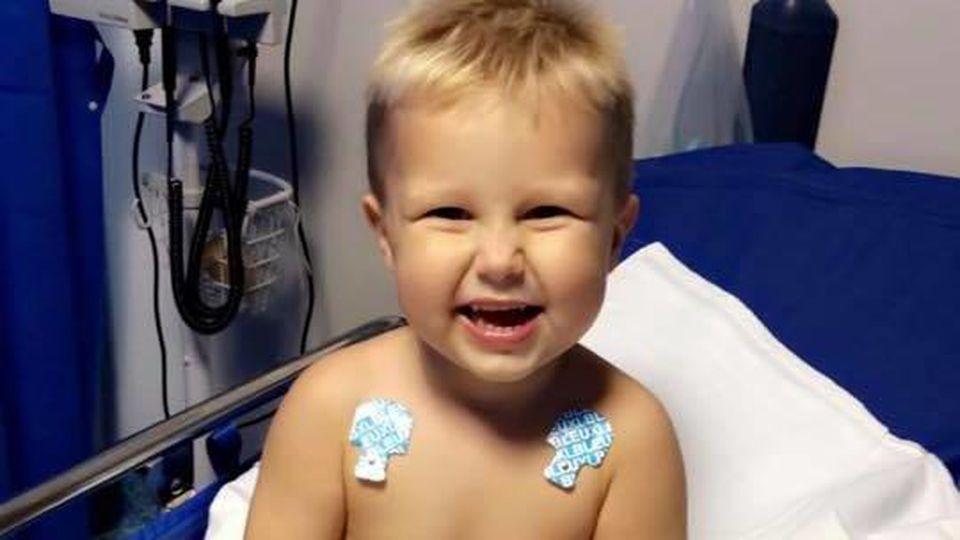 Sophie Balints Sohn Tommy (2) hatte Glück im Unglück: Nachdem er einen Nikotinkaugummi kaute, erlitt er eine Nikotinvergiftung. Heute geht es ihm wieder gut.
