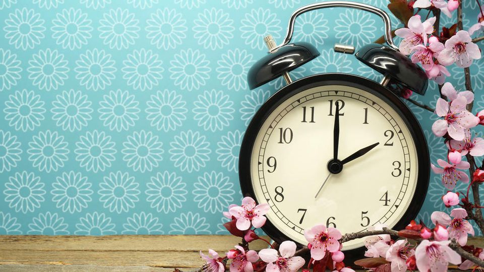 Die Uhr wird wieder umgestellt