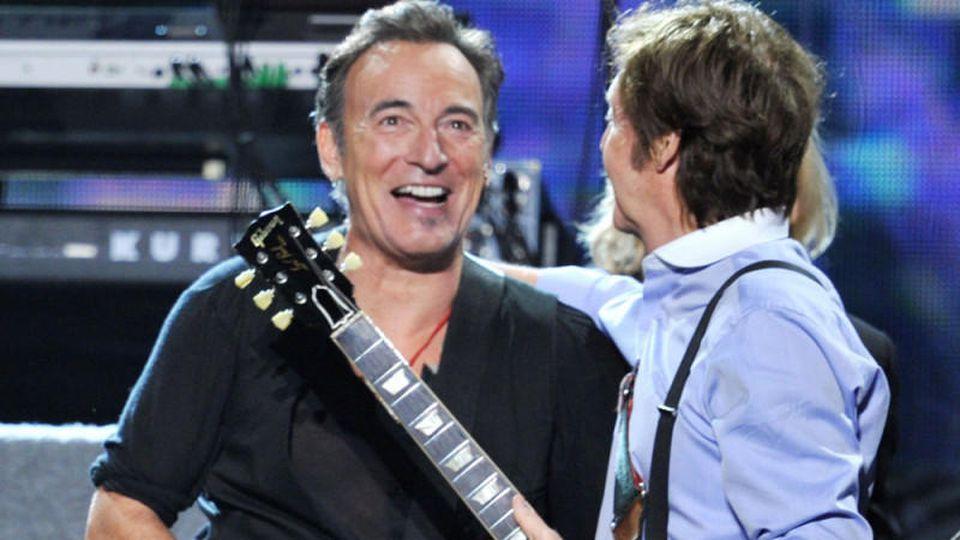 Bruce Springsteen und Paul McCartney