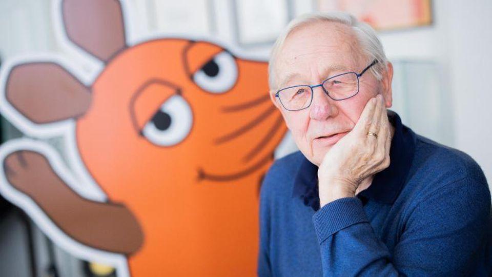 Armin Maiwald ist einer der geistigen Väter der Maus. Foto: Rolf Vennenbernd/dpa