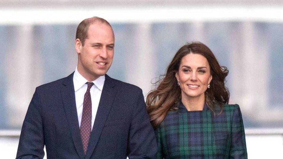 Prinz William und Herzogin Kate nehmen eine Auszeit