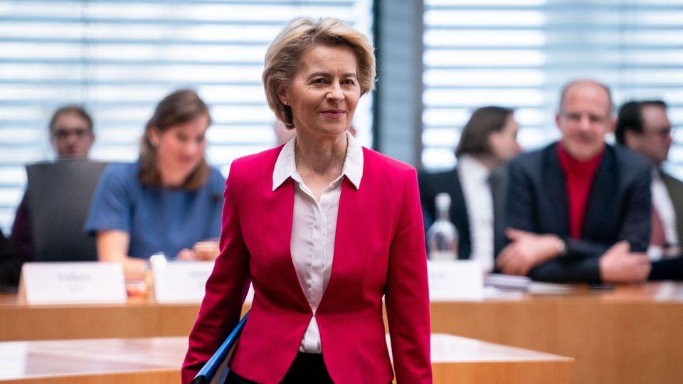 Ursula von der Leyen beim Untersuchungsausschuss