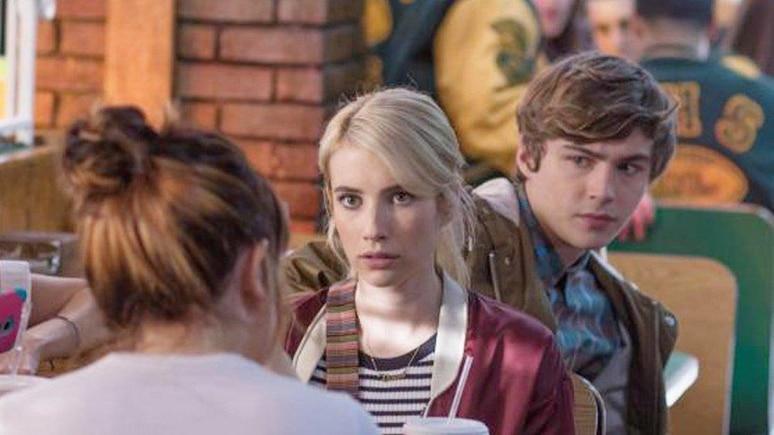 """""""Nerve"""": Vee (Emma Roberts, M.) und ihre Freunde erkennen schon bald die Gefährlichkeit des Online-Spiels."""