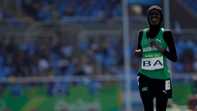 Einfach schön, solche Sportlerinnen wie Houleye Ba bei den Olympischen Spielen zu sehen.