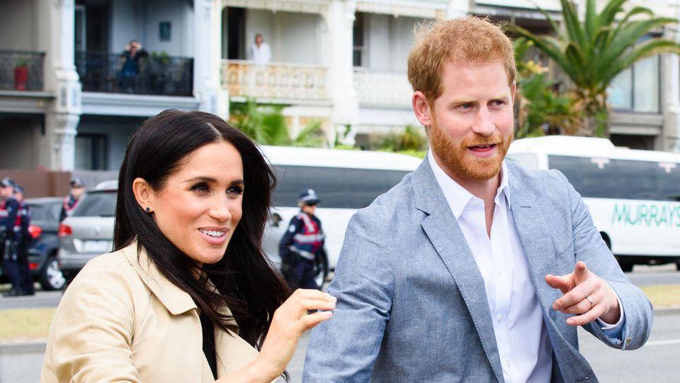 Prinz Harry: Mit Baby Archie geht's nach Südafrika