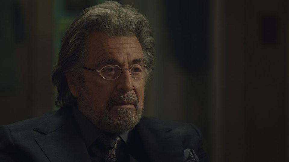 "Al Pacino in der neuen Amazon-Serie ""Hunters""."