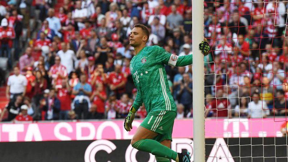Bayerns Manuel Neuer im Tor. Foto: Angelika Warmuth