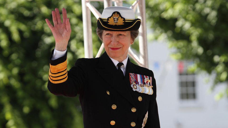 Prinzessin Anne ist die einzige Tochter von Queen Elizabeth II. und Prinz Philip.
