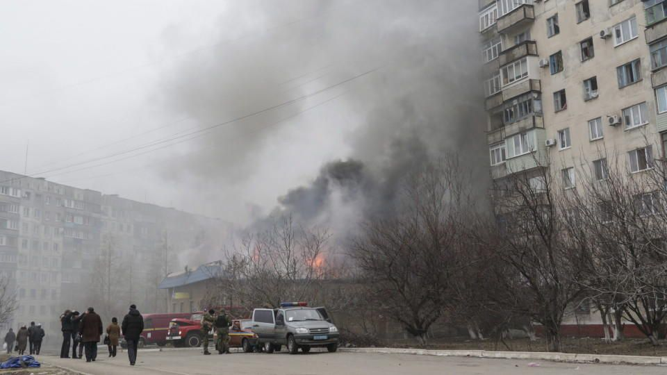 Mindestens 15 Tote bei Raketenangriff auf Mariupol