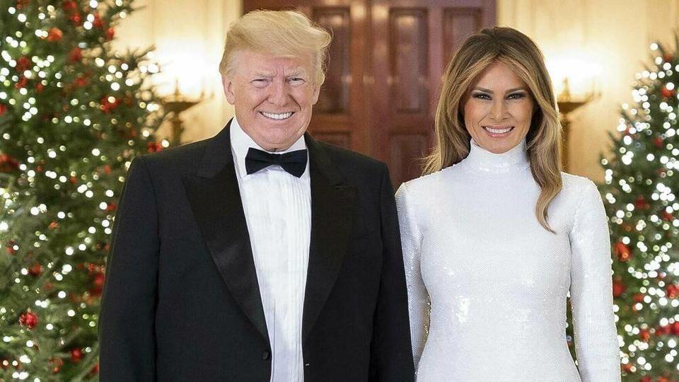 Melania Trump präsentiert Weihnachtsdeko des Weißen Hauses