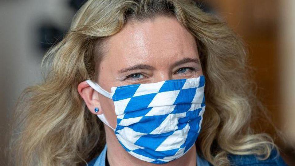 Kerstin Schreyer (CSU), Bayerische Verkehrsministerin. Foto: Peter Kneffel/dpa/Archivbild