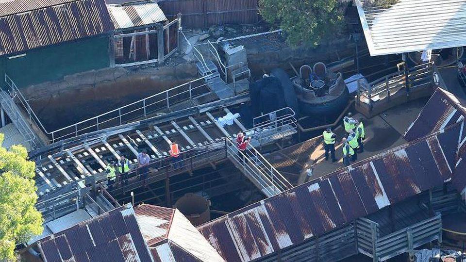 Das Unglück ereignete sich imFreizeitpark Dreamworld an der Goldküste. Foto: Dan Peled