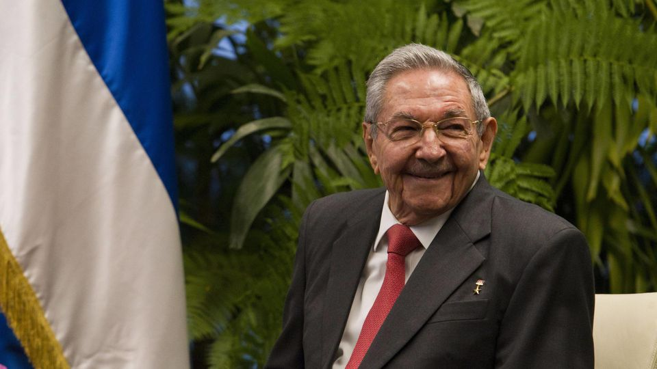 Raúl Castro , der Bruder des verstorbenen ehemaligen Oberhaupts Fidel Castro.