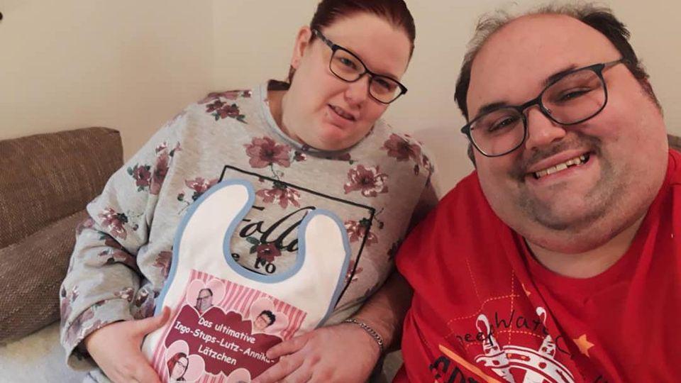 Dieses Foto von Annika & Ingo sorgte im Netz für Furore.
