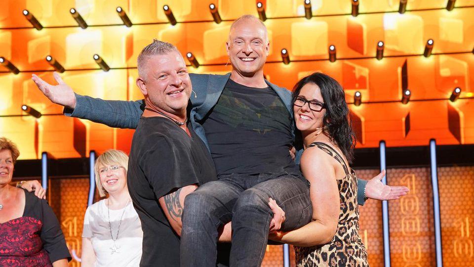 """Christian und Alicia gewinnen 285.141  Euro bei """"The Wall"""""""