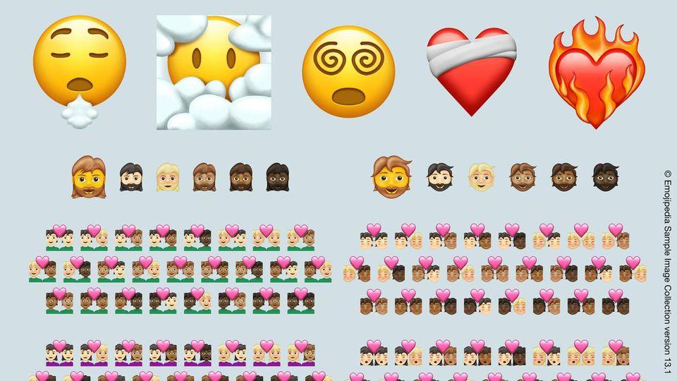 Auch 2021 gibt es wieder einen Satz neuer Emojis.