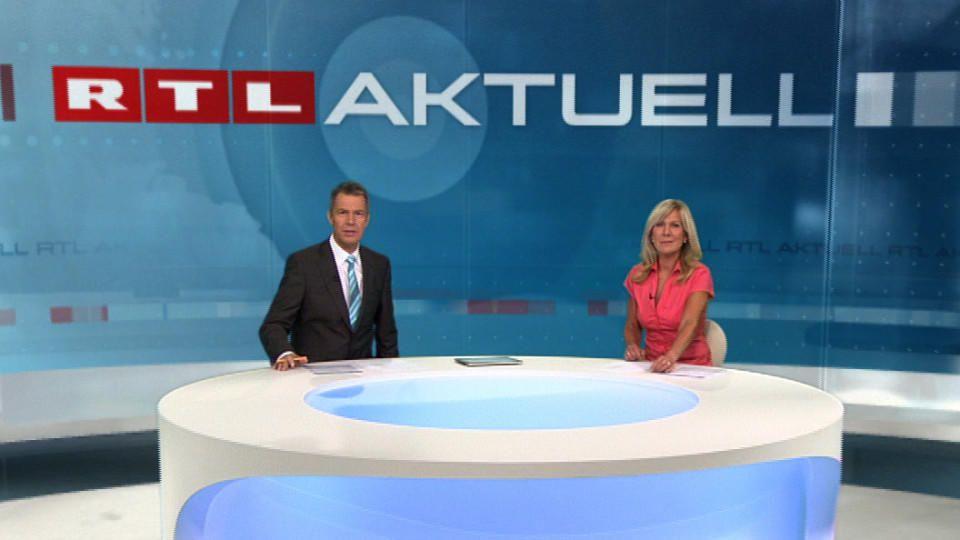 Ulrike von der Groeben arbeitet seit über 30 Jahren gemeinsam mit Peter Kloeppel bei RTL Aktuell.