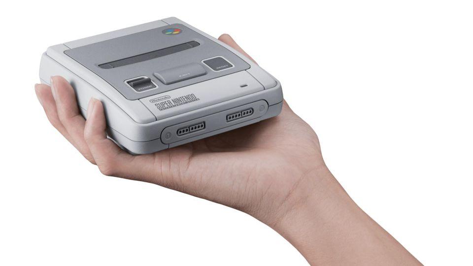 Nintendo Classic Mini: Super Nintendo Entertainment System (SNES): 21 Klassiker hat Nintendo auf die Konsole gepackt.