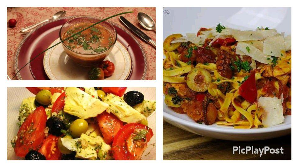 Mediterranes Menü